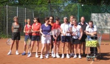 Erwachsenen Tennistraining
